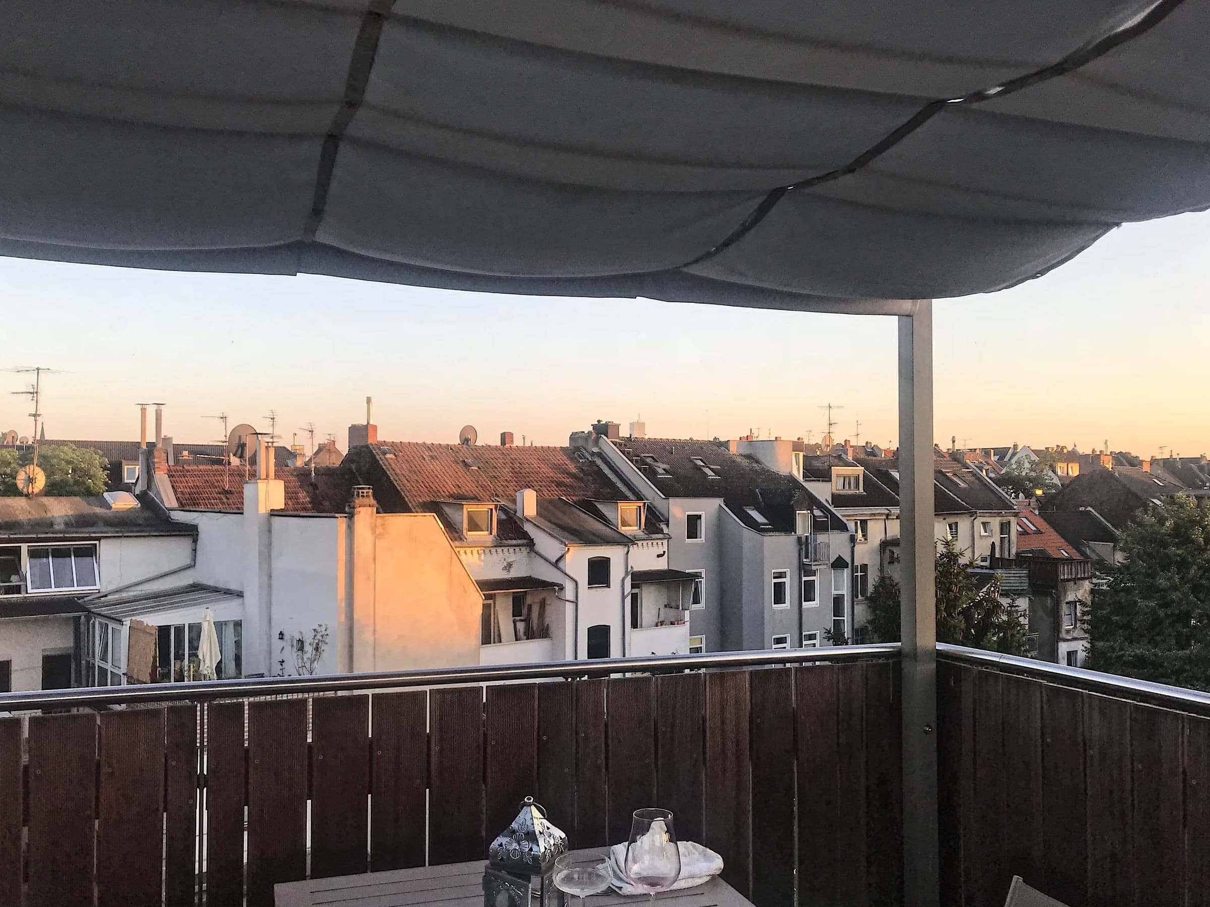 Sonnenuntergang in Köln Nippes