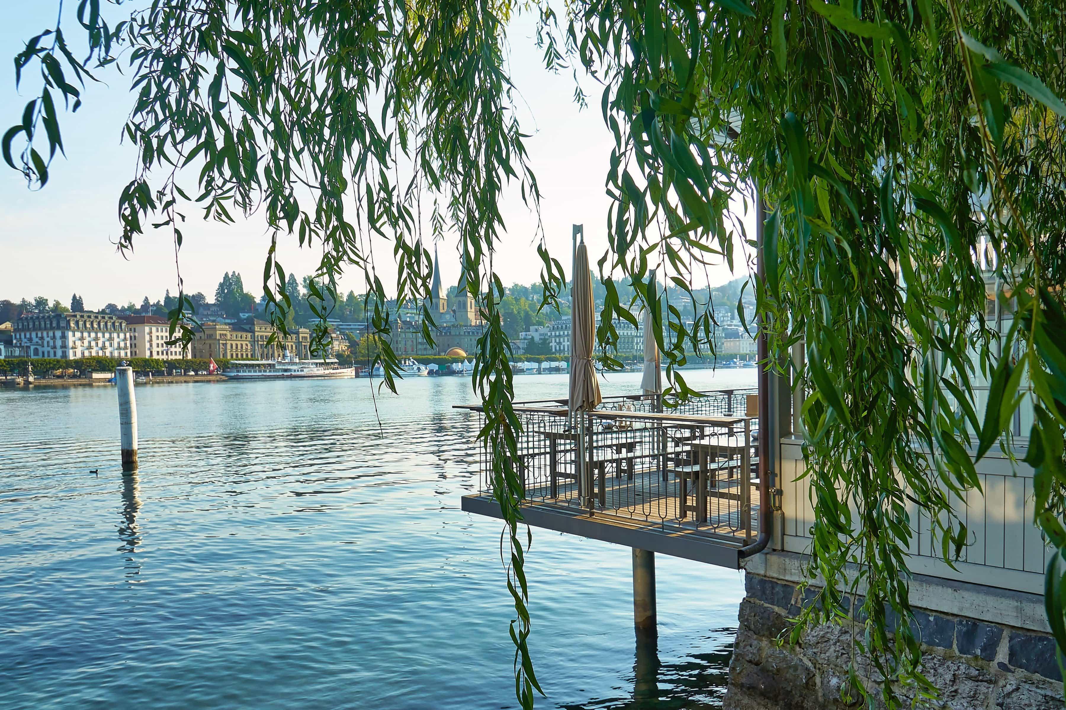 Luzern und meine Lieblingsplätze am Wasser
