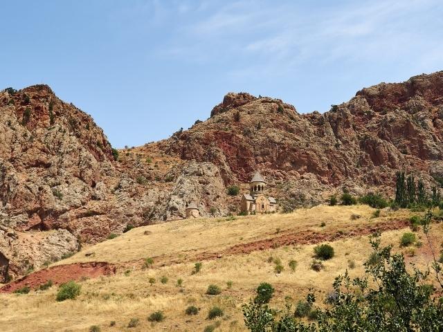 Blick auf das Kloster Norawank