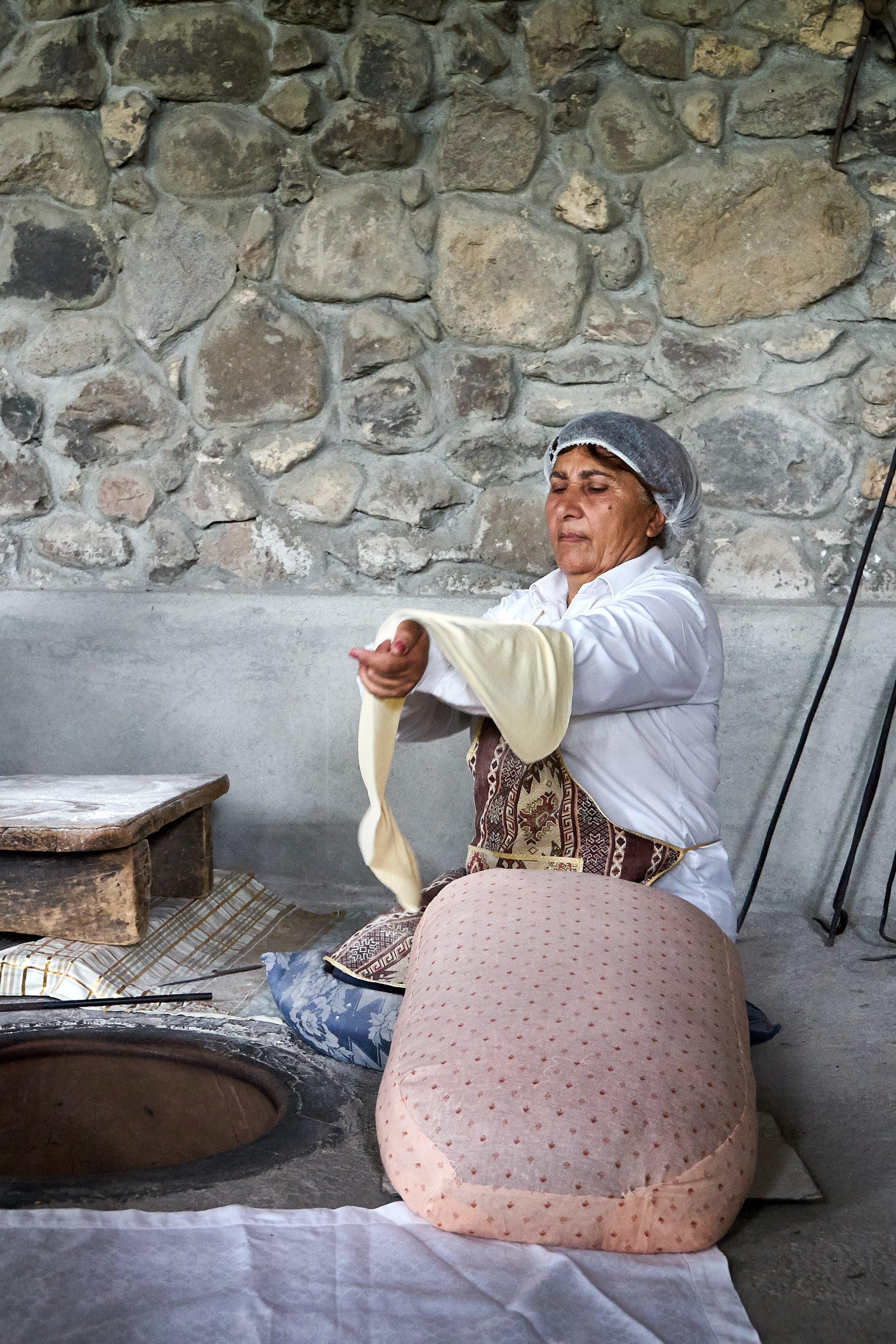 Brotbacken in Armenien