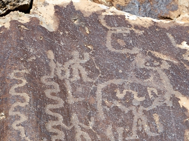 Petroglyphen am Ughtasar-See