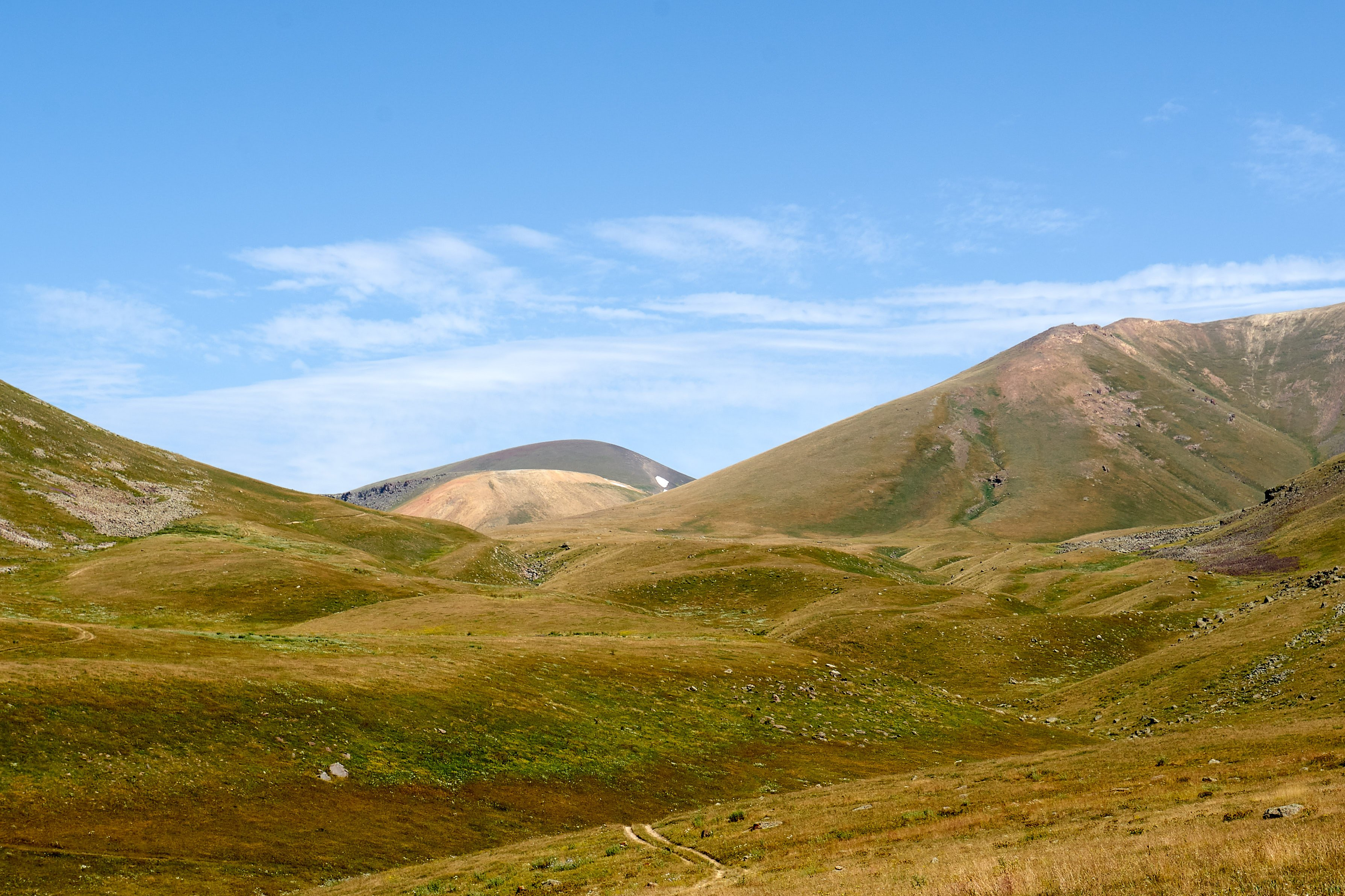 Landschaft am Ughtasar-See