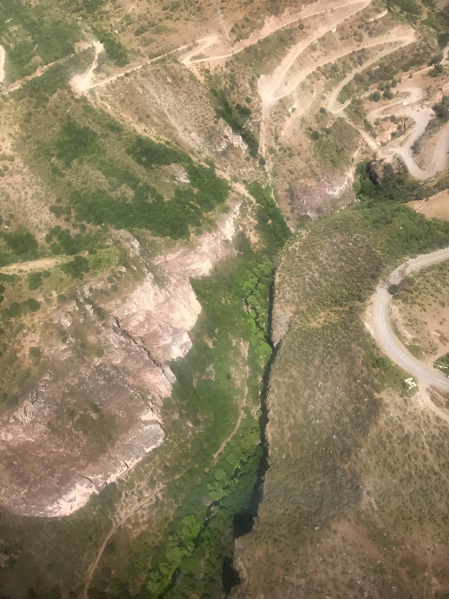 Fahrt mit Wings of Tatev über die Worotan-Schlucht