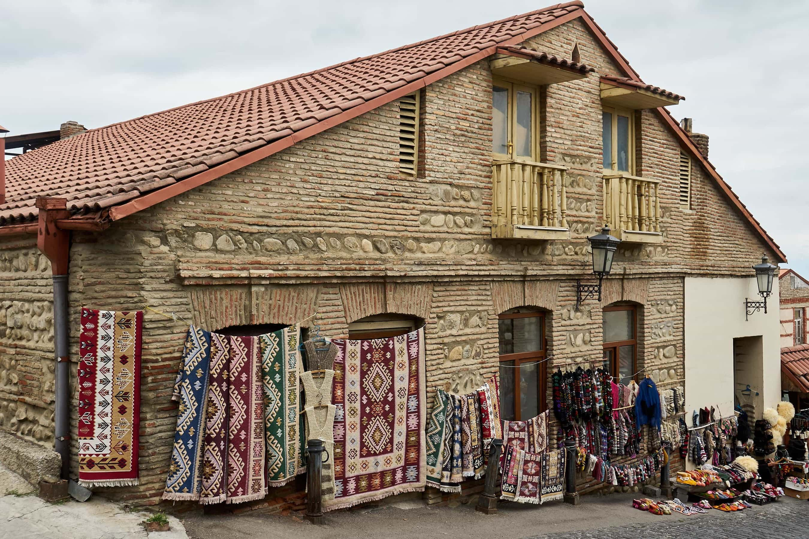 Geschäft für Touristen in Sighnaghi