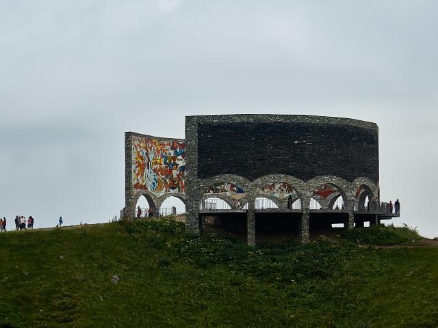 Aussichtsplattform und Denkmal der georgisch-russischen Freundschaft