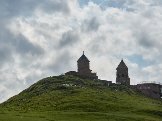 Gergeti-Kloster in Stepantsminda