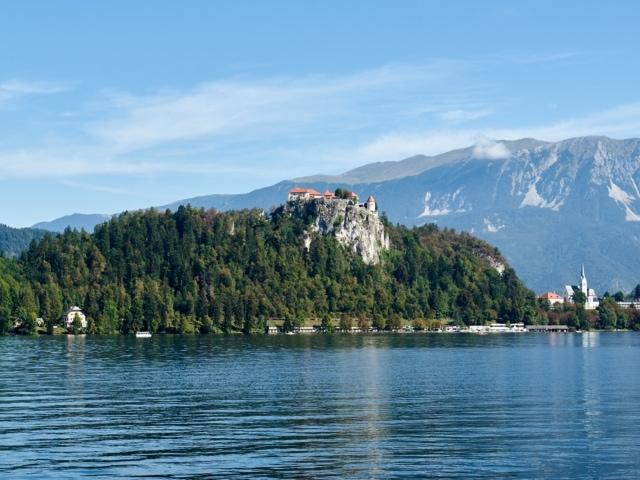 Bleder See und Burg
