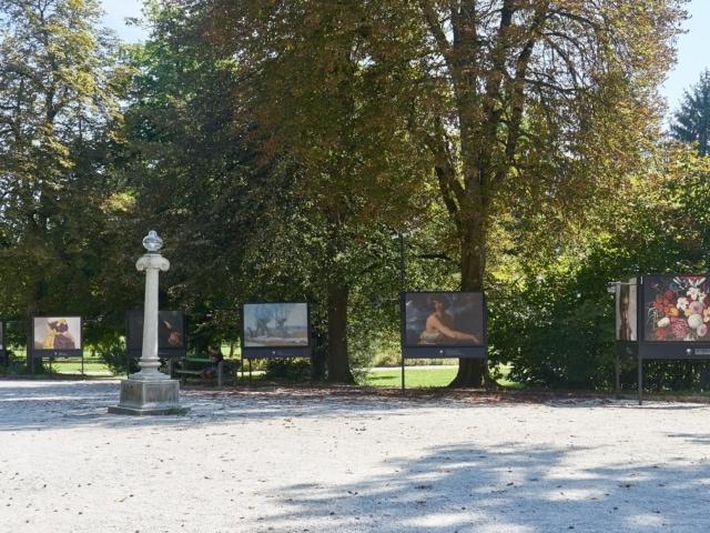 Alee im Tivoli Ljubljana