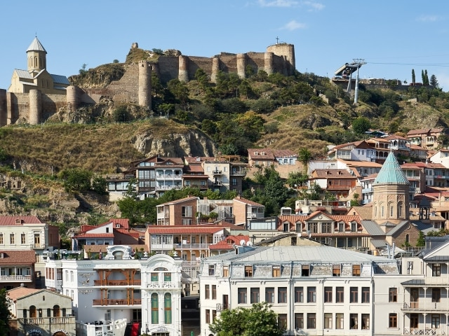 Altstadt und Festung in Tiflis