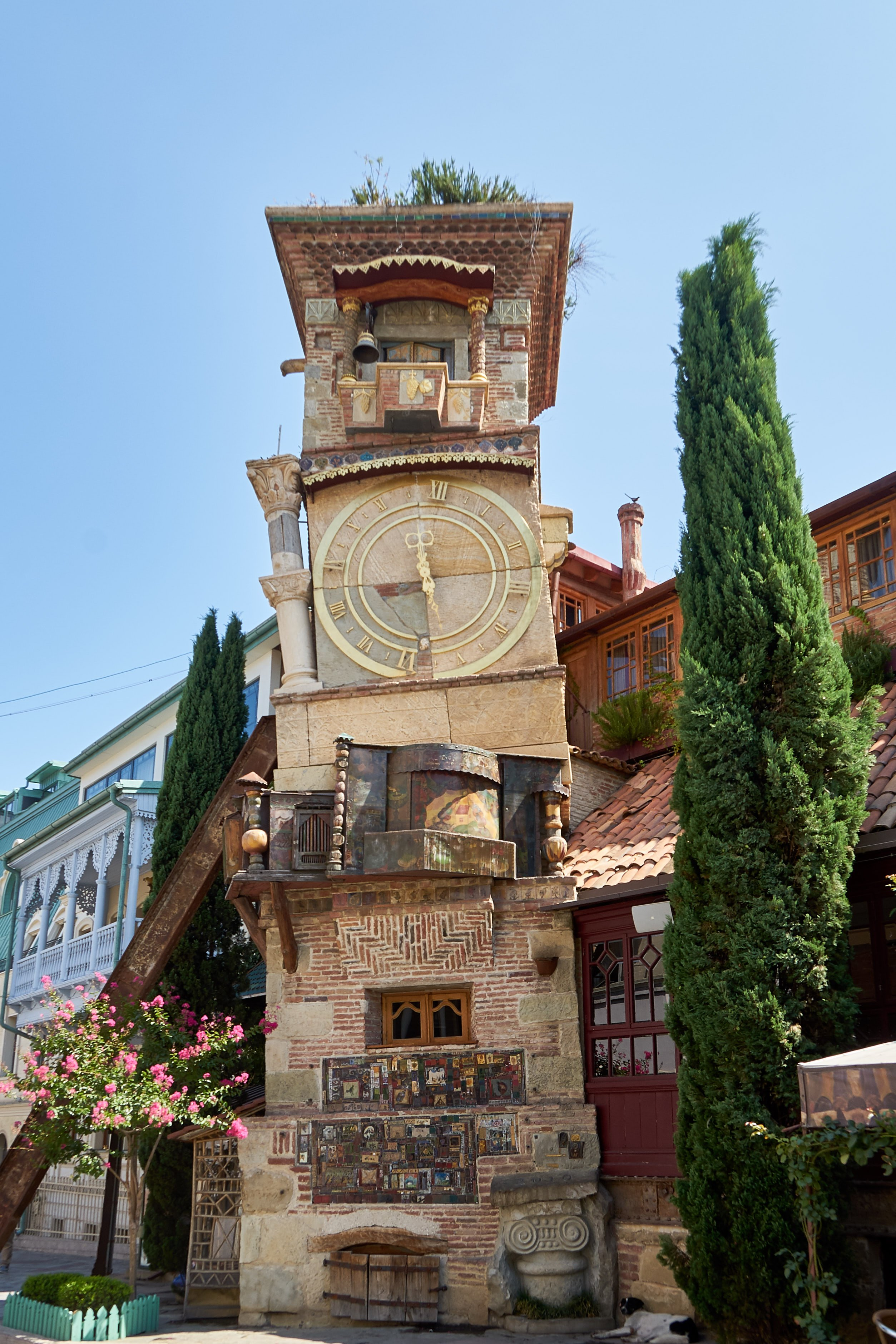 Turm des Marionenttentheaters in Tbilisi
