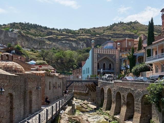 Bäderviertel mit dem Orbeliani-Bad