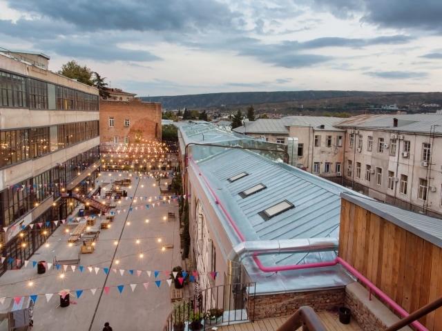 Kulturzentrum Fabrika in Tiflis