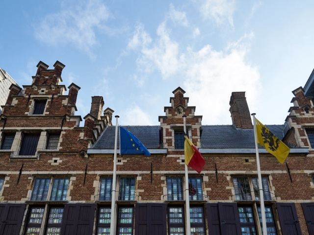 Fassade des Rubenshauses in Antwerpen