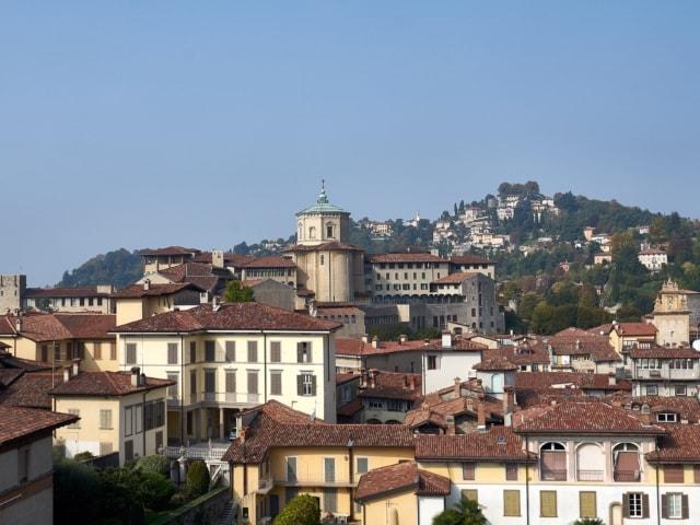 Aussicht vom Campanone Richtung San Vigilio