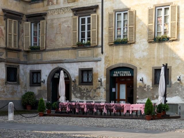 Trattoria in Bergamo