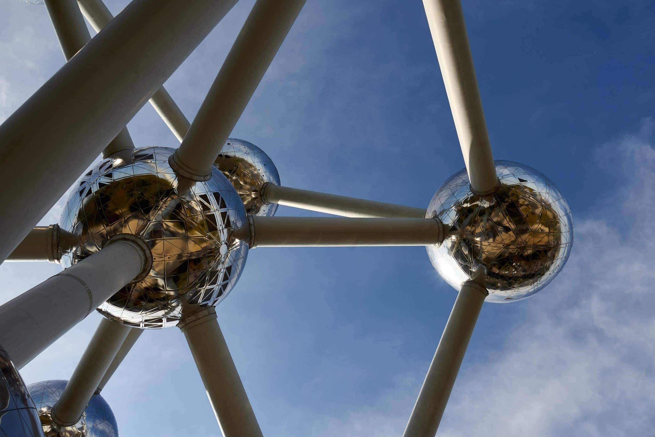 Atomium in Brüssel von unten
