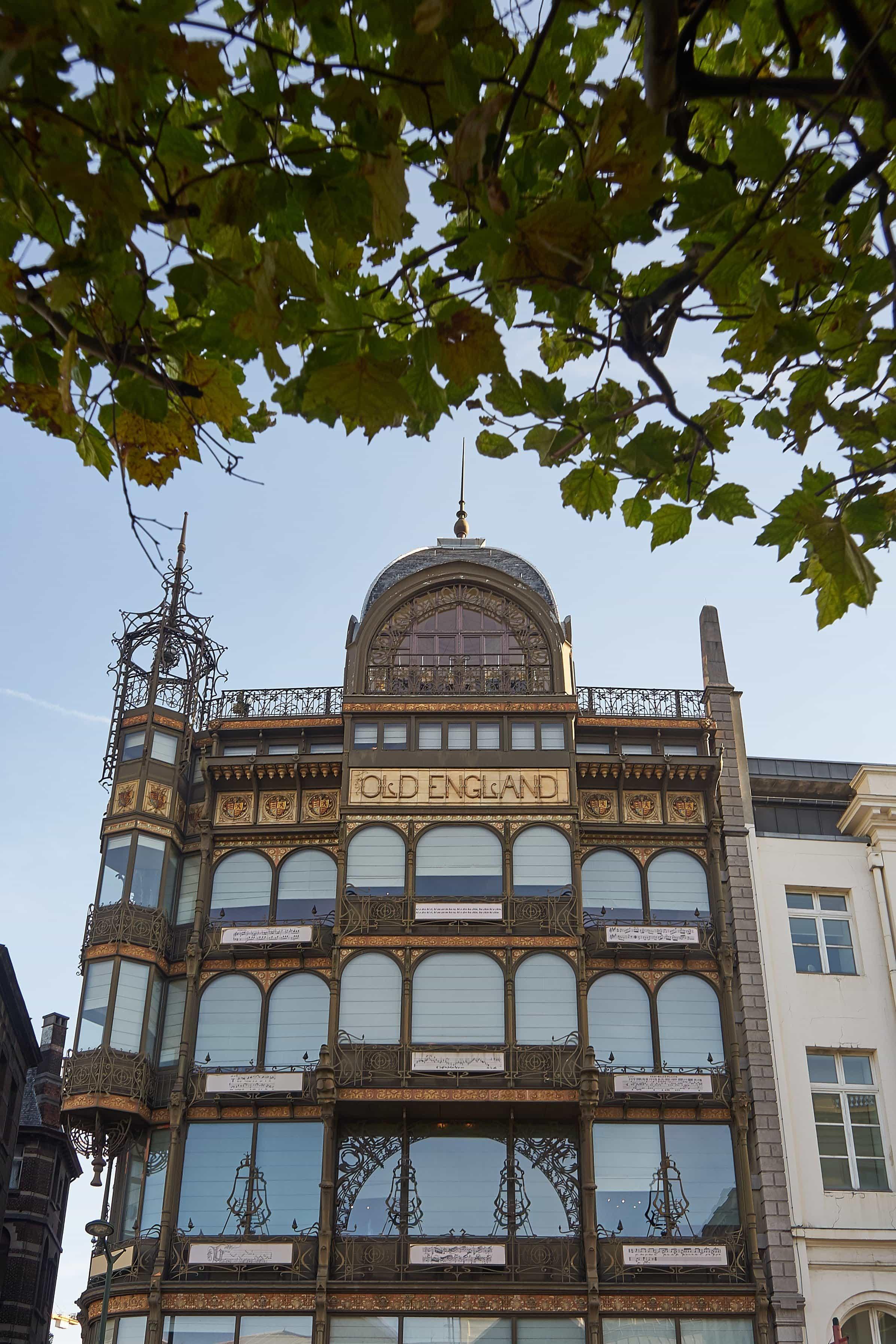 Jugendstilhaus am Mont des Arts in Brüssel