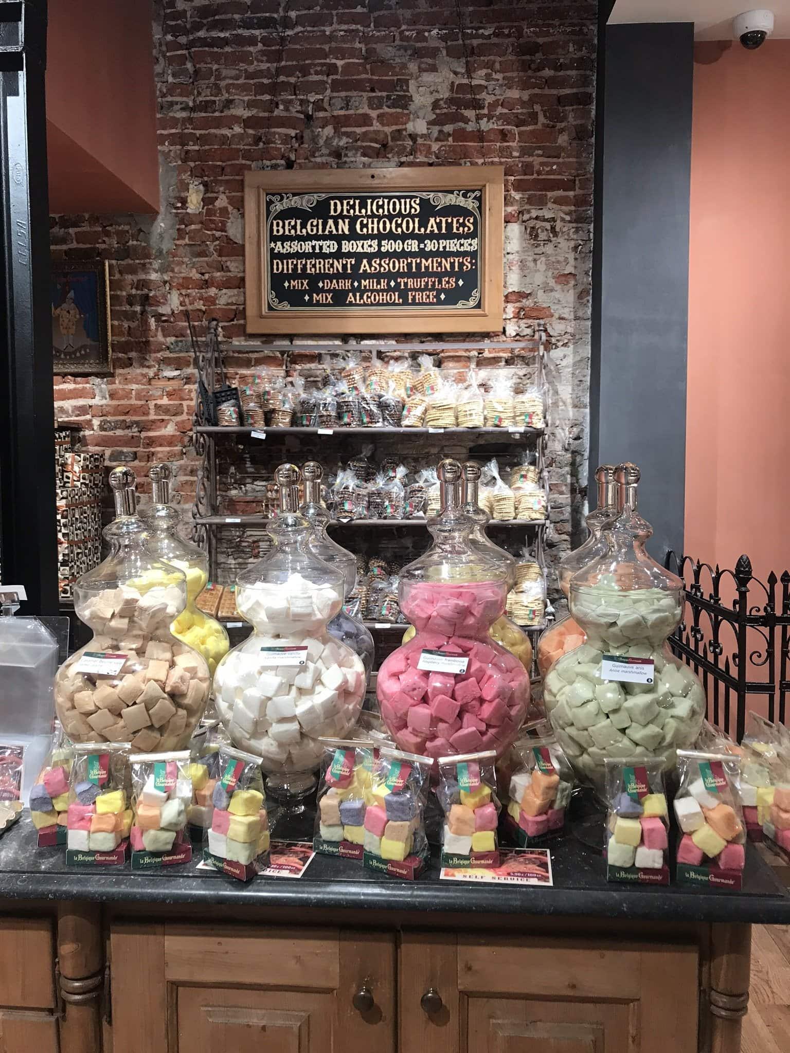 Chocolatier in Brüssel