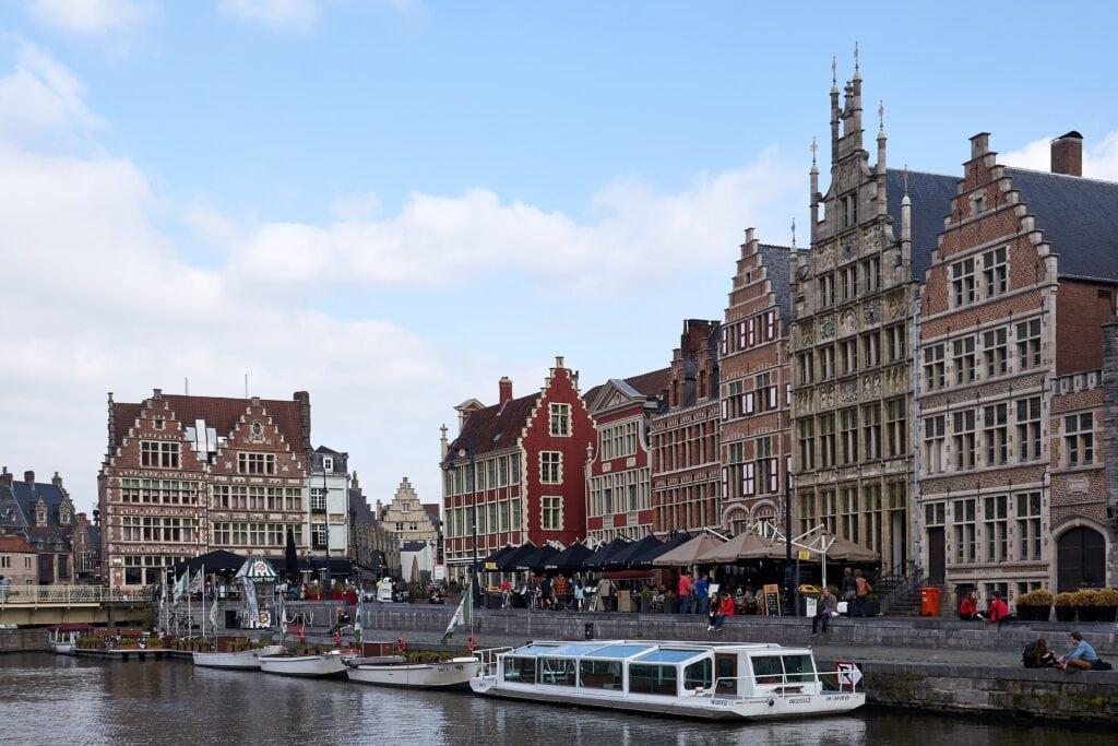 rechtes Ufer der Leie in Gent