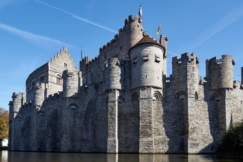 Wasserburg in Gent
