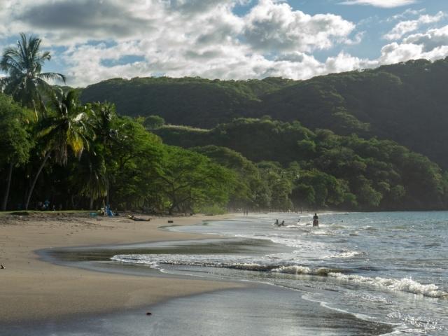 Strand von Playa Hermosa in der Provinz Guanacaste