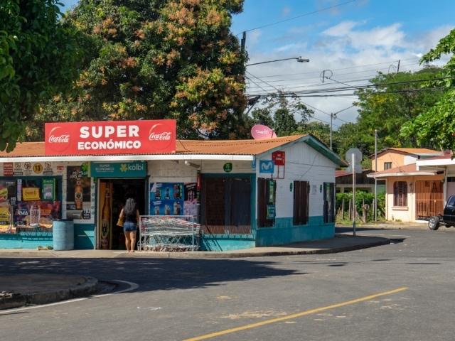 Ortschaft Fortuna in der Provinz Guanacaste