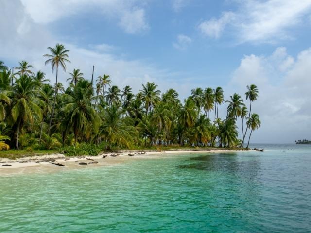 Insel in Guna Yala