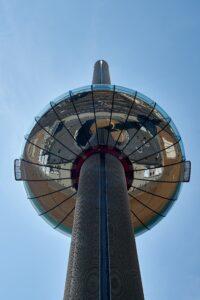 Aussichtskanzel des 173 m hohen Aussichtsturms