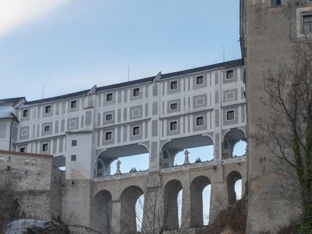 Brücke auf der Burg