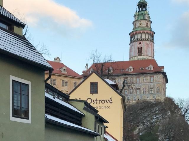Aussicht auf das Schloss