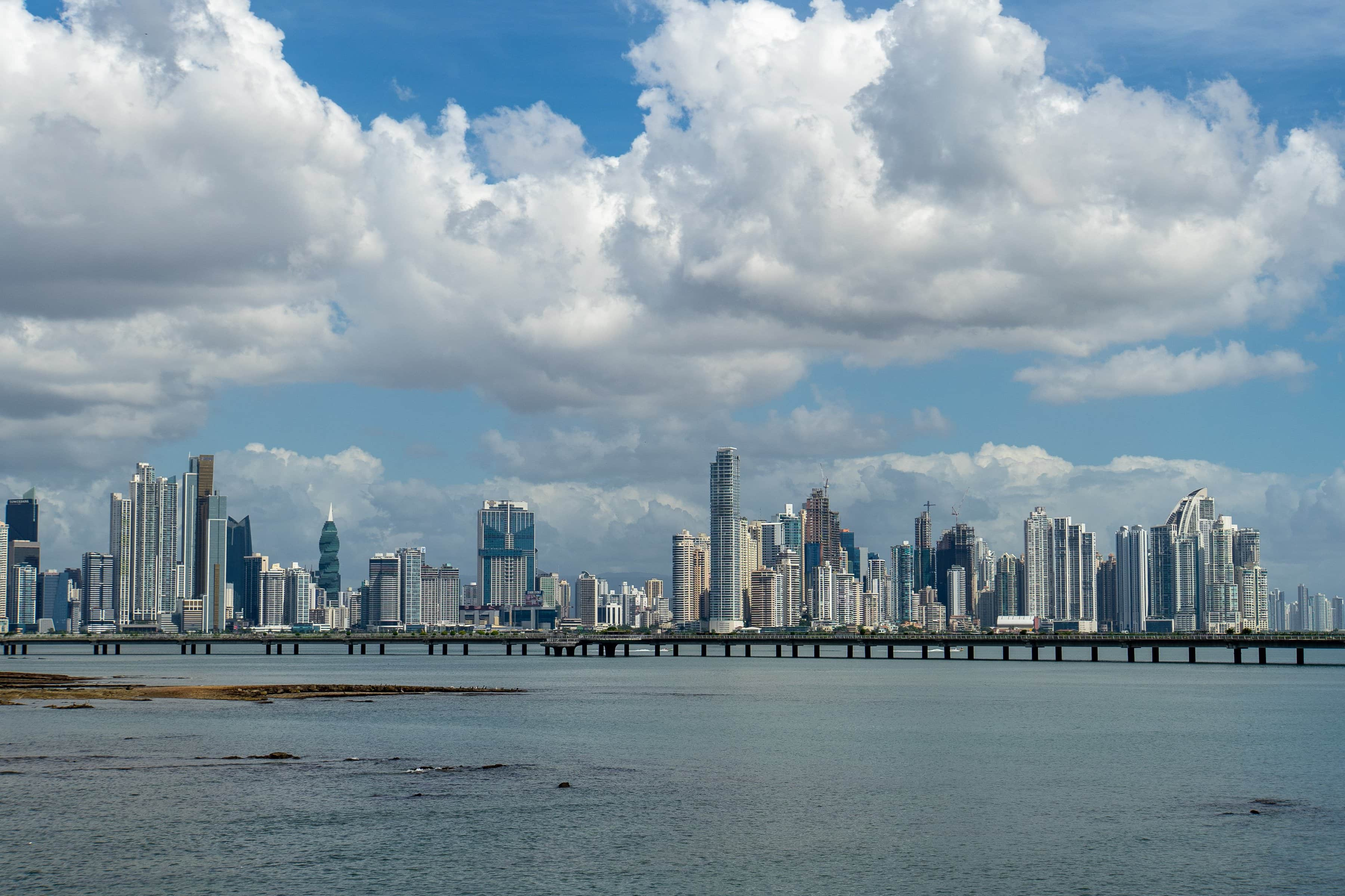 «Aussicht»: Skyline Panama City