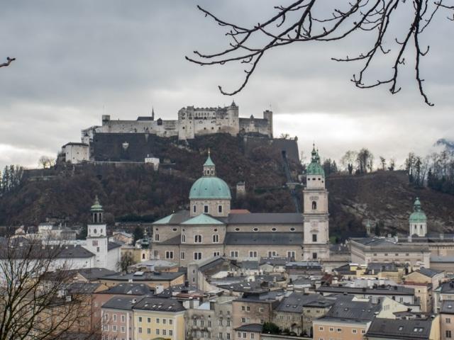 Dom und Festung in Salzburg
