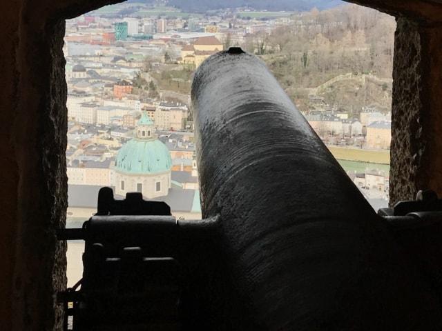 Blick von der Festung über den Dom