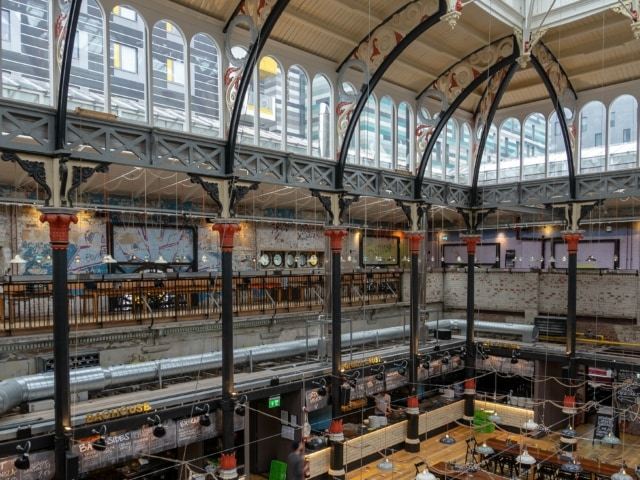 Markthalle in Northern Quarter