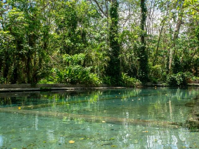 Naturschwimmbecken auf Ometepe