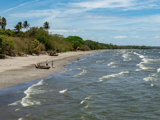 Strand am Nicaraguasee auf Ometepe