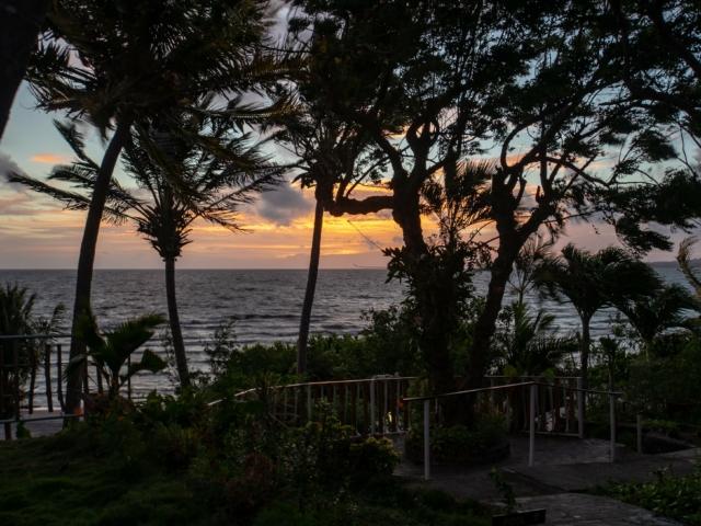 Sonnenaufgang am Nicaraguasee