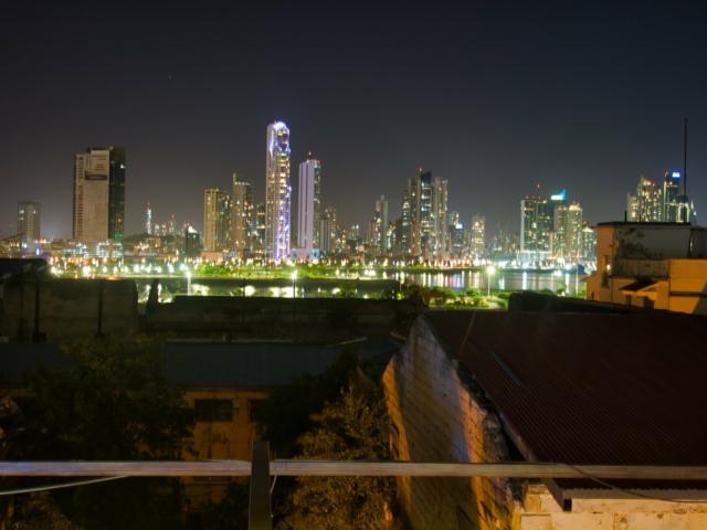 Blick von einer Rooftopbar in Casco Viejo