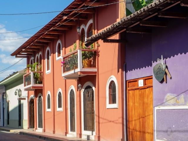Nicaraguas Kolonialstädte: Straße in Granada