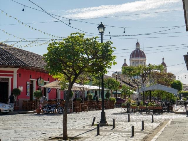 Nicaraguas Kolonialstädte: touristische Straße in Granada