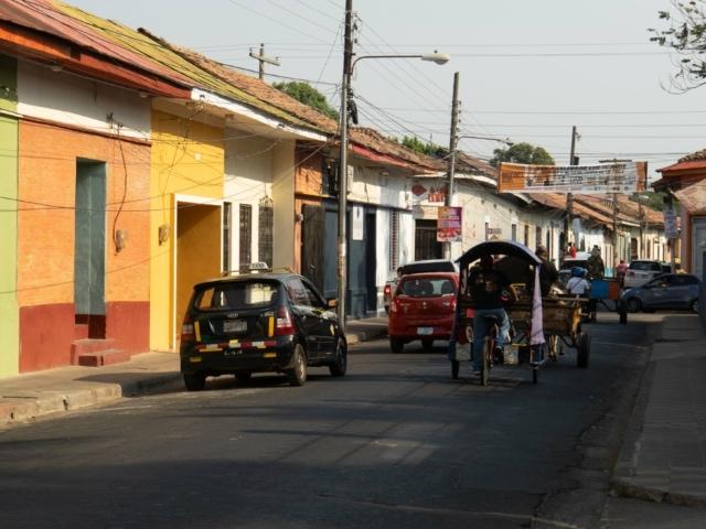 Nicaraguas Kolonialstädte: Straßen in Leon