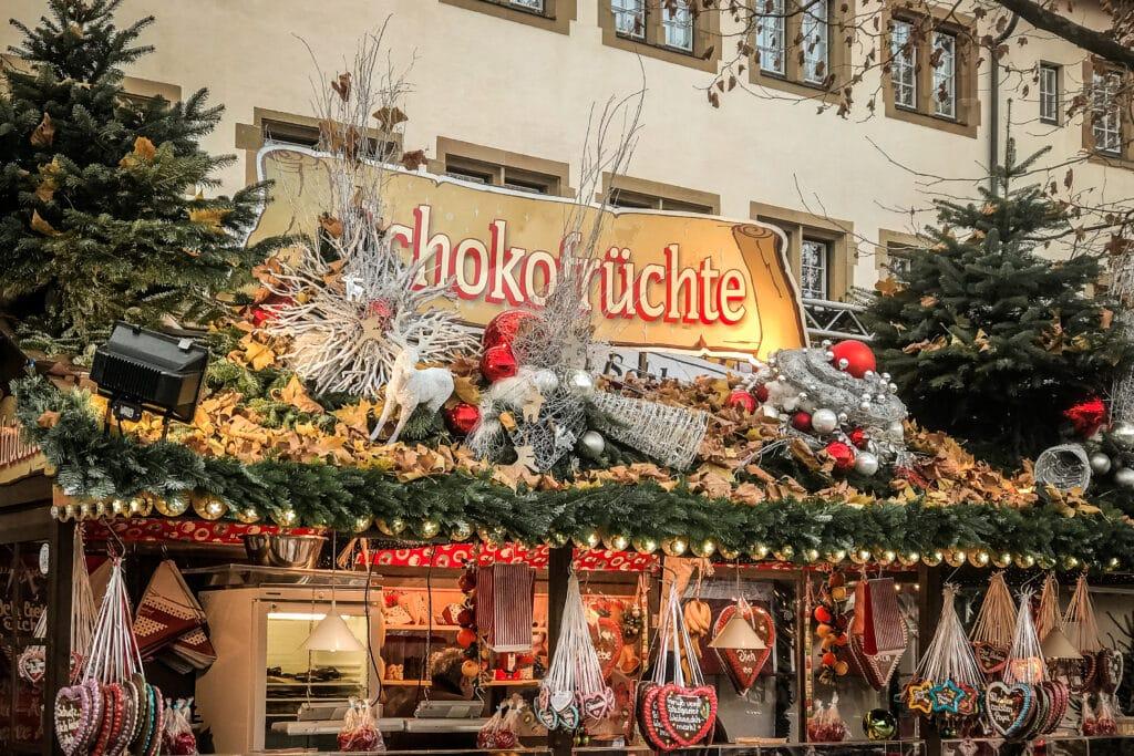 Stuttgart: Weihnachtsmarkt, Glanzlichter und Christmas Garden
