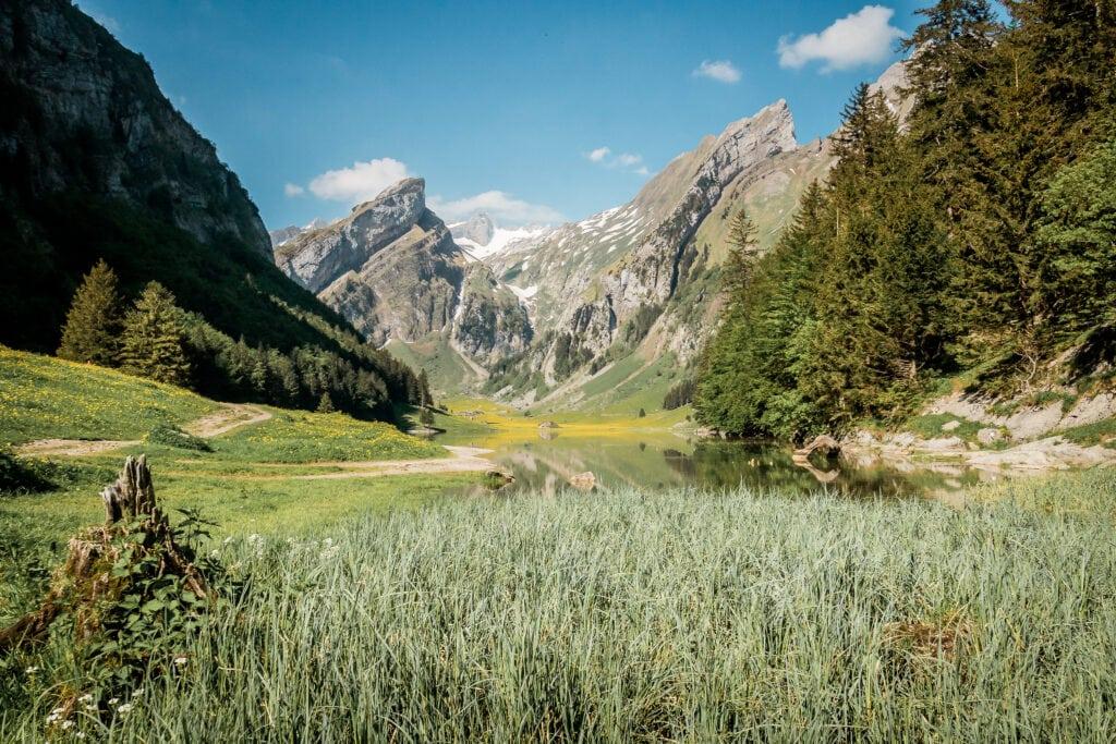 Appenzellerland: Seealpsee und Aescher, Kleinode im Alpstein