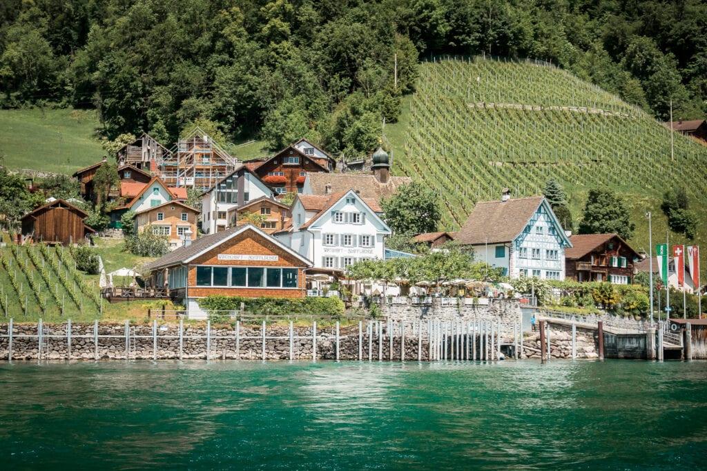 Walensee: Wanderung nach Quinten, an die Ostschweizer Riviera